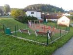 Výstavba dětského hřiště v Hrabří